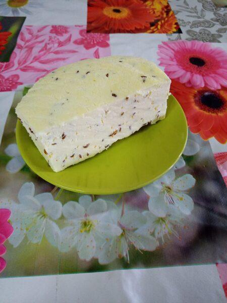 Grauzdētu sēkliņu siers
